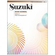 Suzuki Bass School Vol.4 – Klavierbegleitung
