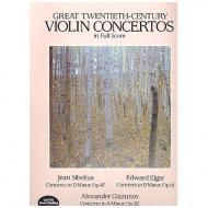 Great 20th Century Violin Concertos