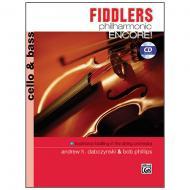 Dabczynski, A. H./Phillips, B.: Fiddlers Philharmonic Encore! Cello/Bass (+CD)