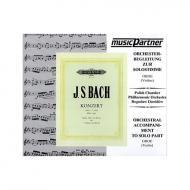 Bach, J. S.: Doppelkonzert BWV 1060 c-Moll für Oboe, Violine, Streicher und B.c. / Playalong-CD