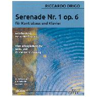 Drigo, R.: Serenade Nr. 1 Op. 6