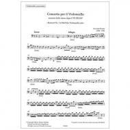 Perroni, G.: Konzert Nr. 1 d-Moll – Stimmenset