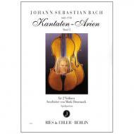 Bach, J. S.: Kantaten-Arien Band 2
