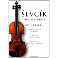 Sevcik, O.: Schule der Violintechnik Op. 1, Heft 1
