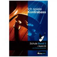 Scheicher, S. A.: Ich spiele Kontrabass Band 2 (+CD)