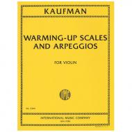Kaufman, L.: Warming-Up Scales