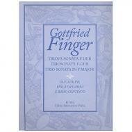 Finger, G.: Triosonate F-Dur