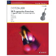 Dotzauer, J.: 18 progressive Etüden Op. 120