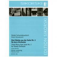 Schostakowitsch, D.: Drei Stücke aus der Suite Nr. 2 für Jazz-Orchester