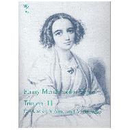 Hensel (Mendelssohn), F.: Klaviertrio Op. 11