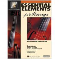 Allen, M./Gillespie, R./Tellejohn Hayes, P.: Essential Elements for Strings 2000 Book 1 (+Online Audio und Video)