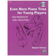 Verleur, H.: Even More Piano Trios for Young Players (+CD)
