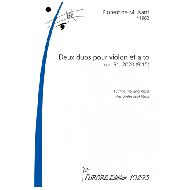 Mulsant, F.: Zwei Duos für Violine und Viola