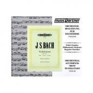 Bach, J. S.: Violinkonzert Nr. 1 BWV 1041 a-Moll  / CD