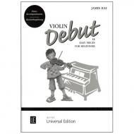 Rae, J.: Violin Debut (+CD)