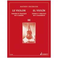 Crickboom, M.: Le Violon – Theorique et Pratique Vol. 3