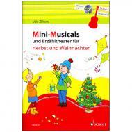 Zilkens, U.: Mini-Musicals und Erzähltheater für Herbst und Weihnachten (+CD)