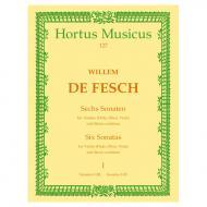 Fesch, W. d.: 6 Violinsonaten – Band 1