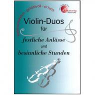 Violin-Duos für festliche Anlässe und besinnliche Stunden