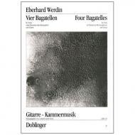 Werdin, E.: 4 Bagatellen