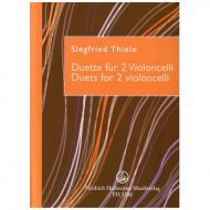 Thiele, S.: Duette für 2 Violoncelli