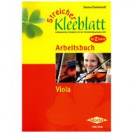 Streicher Kleeblatt - Arbeitsbuch für Viola