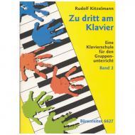 Kitzelmann, R.: Zu dritt am Klavier Band 2