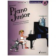 Heumann, H.-G.: Piano Junior – 4 Performance Book (+Online Audio)
