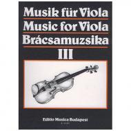 Musik für Viola Band 3