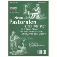 Neun Pastoralen alter Meister