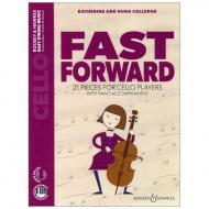 Colledge, K. & H.: Fast Forward for Cello (+Online Audio)