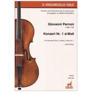 Perroni, G.: Konzert Nr. 1 d-Moll – Partitur