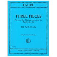 Fauré, G.: Three Pieces