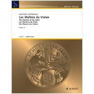 Crickboom, M.: Les Maîtres du Violon Vol. 11