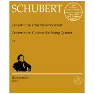 Schubert, F.: Ouvertüre (Quintett) D 8 c-Moll