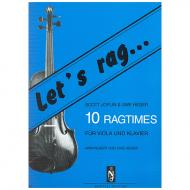 Joplin, S.: Let's rag – 10 Ragtimes (+CD)