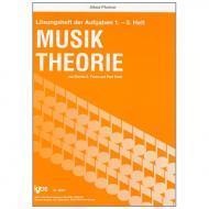 Peters / Yoder: Lösungsheft zur Musiktheorie für Bände 1 - 3