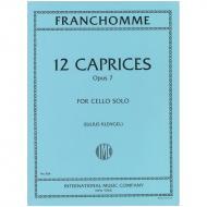 Franchomme, A. J.: 12 Caprices Op. 7
