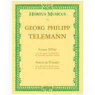 Telemann, G. Ph.: Sonate »Der getreue Musikmeister« D-Dur