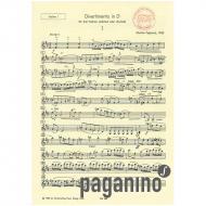 Tajcevic, M.: Divertimento D-Dur – Violine 1
