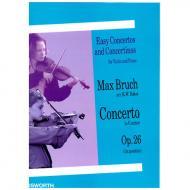 Bruch, M.: Violinkonzert Op. 26 g-Moll