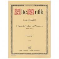 Stamitz, K.: 6 Duos Op. 18 Band 2 (Nr. 4-6)