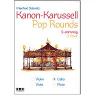 Schmitz, M.: Kanon-Karussell – Pop Rounds 2-stimmig (Violoncello)