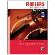 Dabczynski, A. H./Phillips, B.: Fiddlers Philharmonic Encore! Viola (+CD)