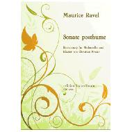 Ravel, M.: Sonate posthume