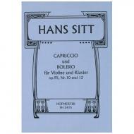 Sitt, H.: Capriccio und Bolero Op. 95