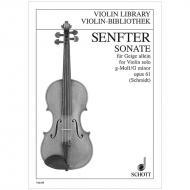 Senfter, J.: Sonate Op. 61 g-Moll