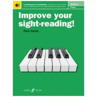 Harris, P.: Improve your sight-reading! Piano Grade 2 (+Online Audio)
