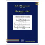 Mauersberger, R.: Klaviertrio c-Moll RMWV 448 (1913/1914)