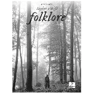 Swift, T.: Folklore - Piano, Vocal and Guitar